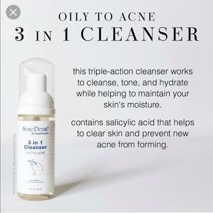 Senederm Oily to Acne 3 in 1 cleanser